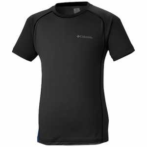 Columbia Youth Boy ' S Super Chill Short Sleeve - Black