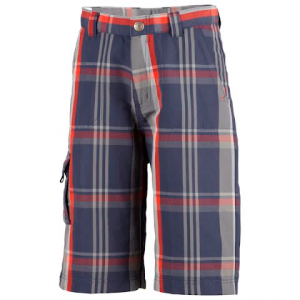 Columbia Youth Boys Silver Ridge Novelty Short - Nocturnal Plaid