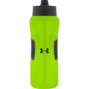 Under Armour Undeniable 32oz Squeezable Water Bottle With Quick Shot Lid - Hyper Green