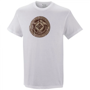 Columbia Mens Greater Outdoors Short Sleeve Tee - White