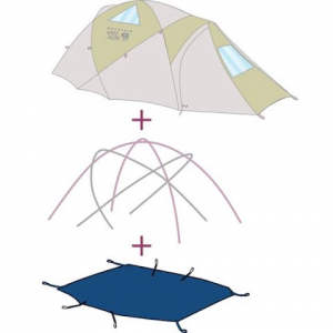 Mountain Hardwear Airjet 2 Tent Footprint ( Discontinued )