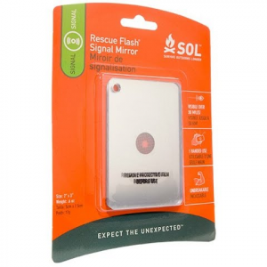 Adventure Medical Sol Rescue Flash Mirror