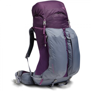 The North Face Women ' S Banchee 50 Backpack - Blackberry Wine / Grey