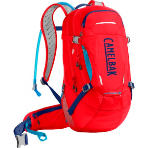 Camelbak H . A . W . G . Lr 20 100oz Hydration Pack For Mountain Biking - Racing Red / Pitch Blue