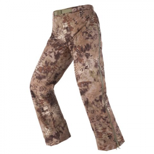 Kryptek Apparel Men ' S Poseidon Lightweight Rain Pant - Kryptek Highlander