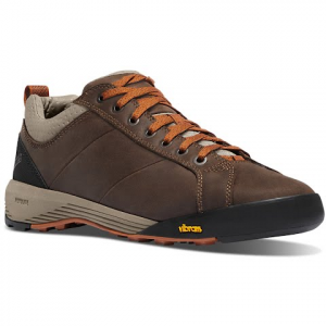 Danner Men ' S Camp Sherman Trail Walker - Dark Brown / Orange