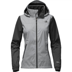 The North Face Women ' S Resolve Plus Jacket - Mid Grey / Tnf Black