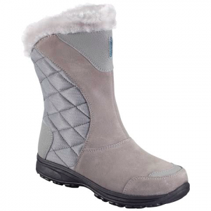 Columbia Women ' S Ice Maiden Ii Slip Boot - Light Grey / Siberia