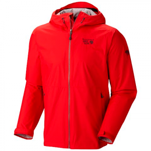 Mountain Hardwear Men ' S Plasmic Jacket - Mountain Red