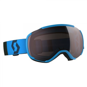 Scott Faze Ii Snow Goggle - Blue / Amplifier Silver Chrome