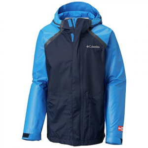 Columbia Youth Outdry Hybrid Jacket - Super Blue / Collegiate Navy
