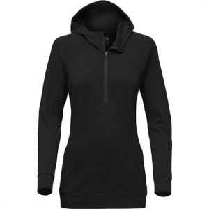 The North Face Women ' S Om 1 / 2 Zip Pullover - Tnf Black
