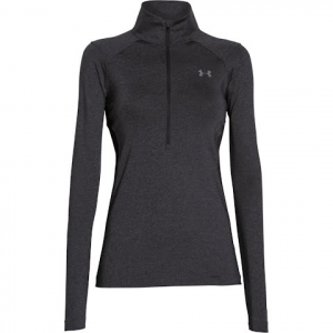 Under Armour Women ' S Coldswitch Thermocline 1 / 2 Zip - Carbon Heather