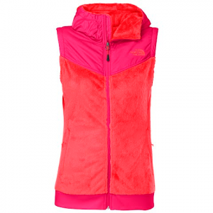 The North Face Women ' S Oso Hooded Vest - Rambutan Pink
