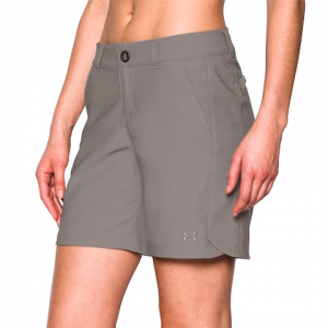 Under Armour Women ' S Ua Fish Hunter Short - Pewter