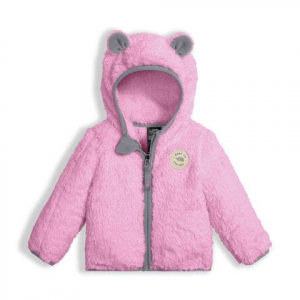 The North Face Infant Plushee Bear Hoodie - Lilac Sachet Pink