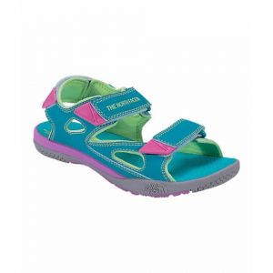 The North Face Youth Jr Base Camp Coast Ridge Sandals - Bluebird / Budding Green