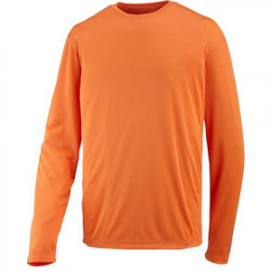 Merrell Mens Morpheous L / S Shirt - Merrell Orange
