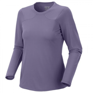 Mountain Hardwear Women ' S Wicked Lite Long Sleeve Tee - Morning