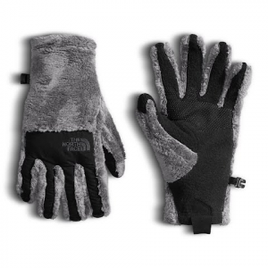 The North Face Women ' S Denali Thermal Etip Glove - Mid Grey / Tnf Black