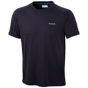 Columbia Men ' S Mountain Tech Iii Short Sleeve Crew ( Extended Size ) - Abyss