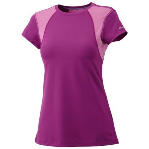 Columbia Women ' S Anytime Active Shortsleeve Top - White