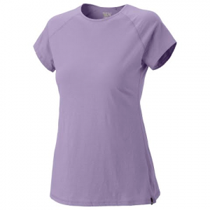 Mountain Hardwear Womens Nimba Short Sleeve Tee - Morning Mist