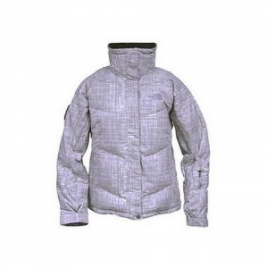 The North Face Women ' S Nyla Print Down Jacket ( Discontinued ) - Moonlight Ivory Print