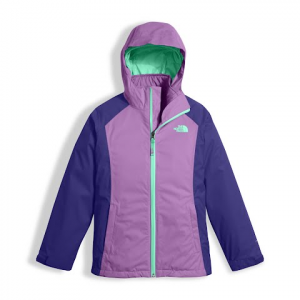 The North Face Youth Girl ' S East Ridge Triclimate Jacket - Bellflower Purple