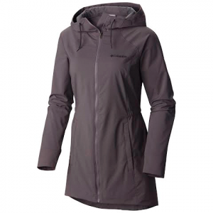 Columbia Women ' S Sweet As Long Softshell Jacket - Pulse Heather