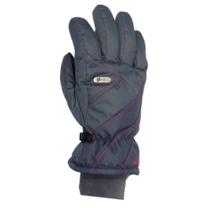 Gordini Women ' S Challenge Xiii Glove - Dark Grey / Deep Pink