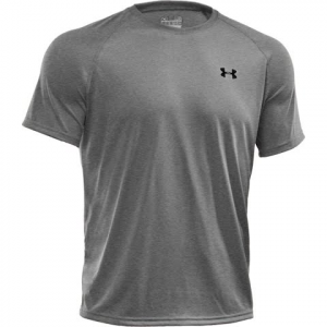 Under Armour Men ' S Ua Tech Short Sleeve Shirt - True Grey