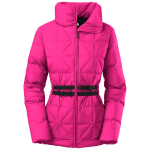 The North Face Women ' S Belted Mera Peak Jacket - Bdvdramaticplum