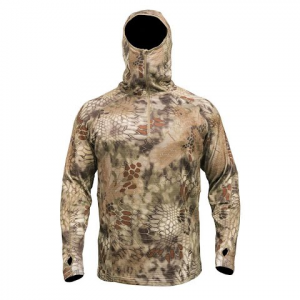 Kryptek Apparel Men ' S Sherpa Zip Hoodie - Kryptek Highlander
