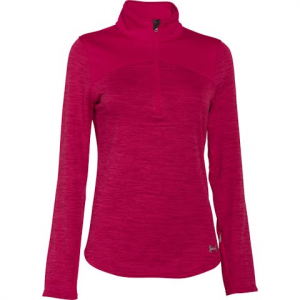 Under Armour Women ' S Ua Gamut 1 / 4 Zip - Fury / Boulder