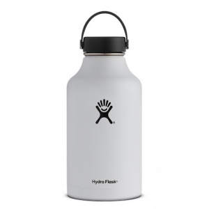 Hydro Flask 64 Oz Wide Mouth Growler Flask - White