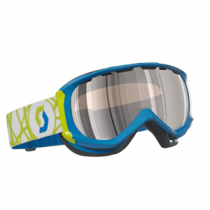 Scott Reply Snow Goggle - Blue / Illuminator