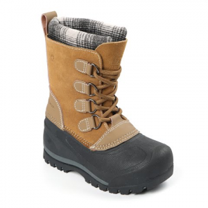 Northside Youth Boy ' S Back Country Winter Boots - Tan / Grey