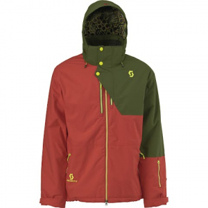 Scott Men ' S Langley Jacket - Fiery Red