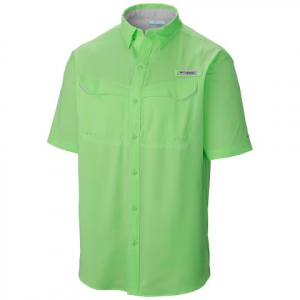 Columbia Men ' S Pfg Low Drag Offshore Short Sleeve Shirt - Key West