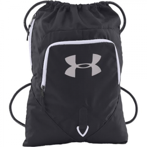 Under Armour Undeniable Sackpack - Black / White