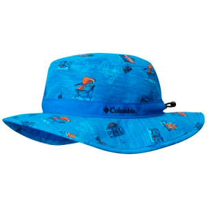 Columbia Youth Solar Stream Booney Hat - Super Blue Campin