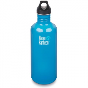 Klean Kanteen 40oz Classic Kanteen With Loop Cap - Channel Island