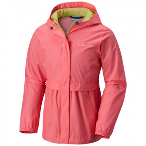 Columbia Youth Girl ' S Pardon My Trench Rain Jacket - Lollipop