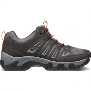 Keen Men ' S Oakridge Trail Shoes - Raven / Burnt Ochre