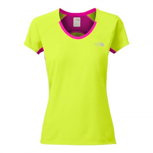 The North Face Women ' S Gtd Short Sleeve Top - Dayglow Yellow