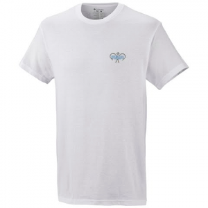 Columbia Mens Pfg Elements Ii S / S Tee - White 100