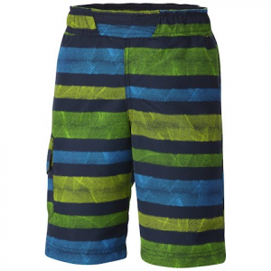 Columbia Boys Youth Solar Stream Ii Boardshort - Collegiate Navy Stripe