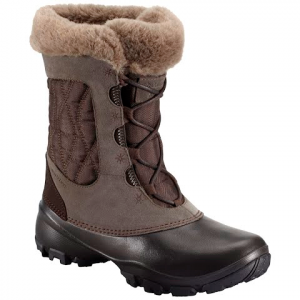 Columbia Women ' S Sierra Summette Iv Winter Boot - Cordovan / Tusk