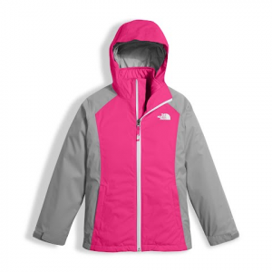 The North Face Youth Girl ' S East Ridge Triclimate Jacket - Petticoat Pink